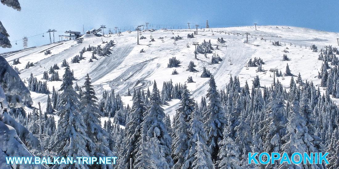 La station de ski serbe haut de gamme - montagne Kopaonik