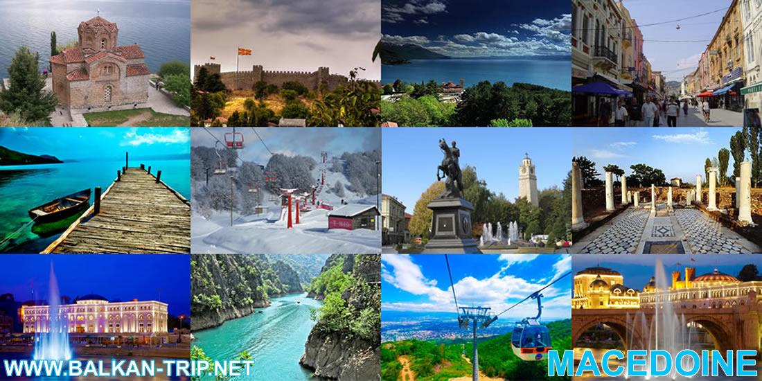 Meilleures destinations touristiques de Macédoine