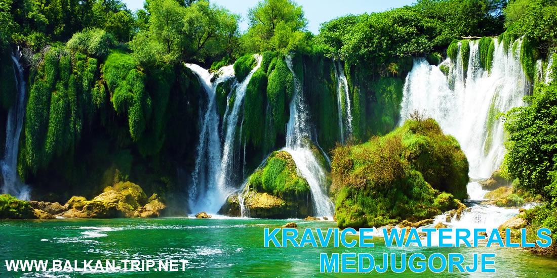 Voyager en vacances et voir les cascades de Kravice en Bosnie