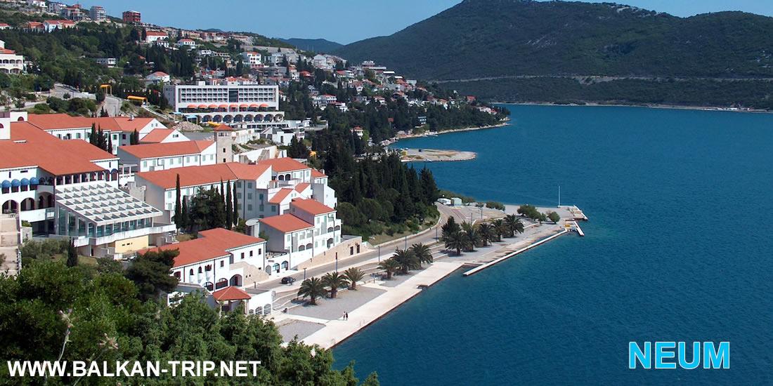 Organisez votre séjour à Neum à la côte adriatique bosniaque