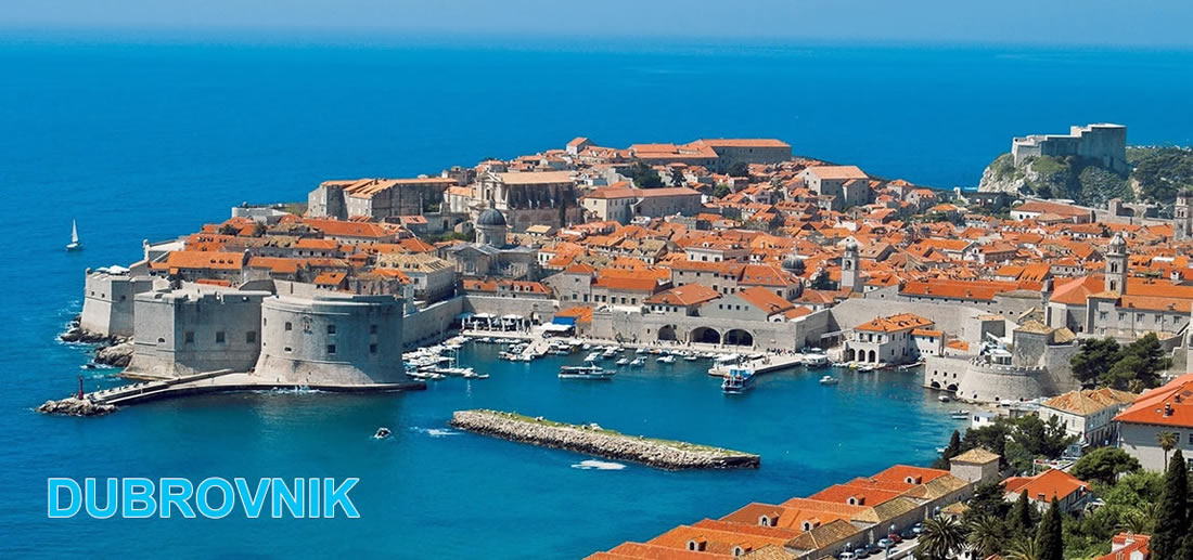 Vacances à Dubrovnik - la ville inscrite au Patrimoine Mondial de l'UNESCO