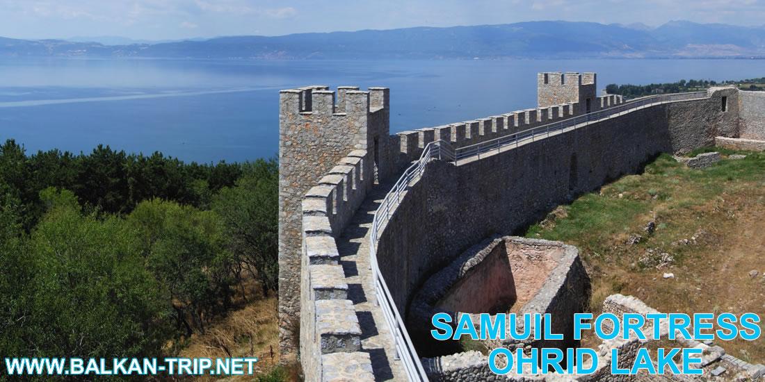 Forteresse Samuil sur le lac d'Ohrid