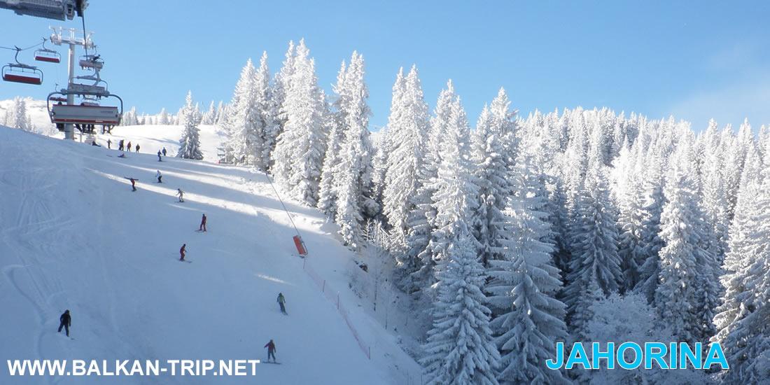 Faire du ski et des sports d'hiver à Jahorina en Bosnie