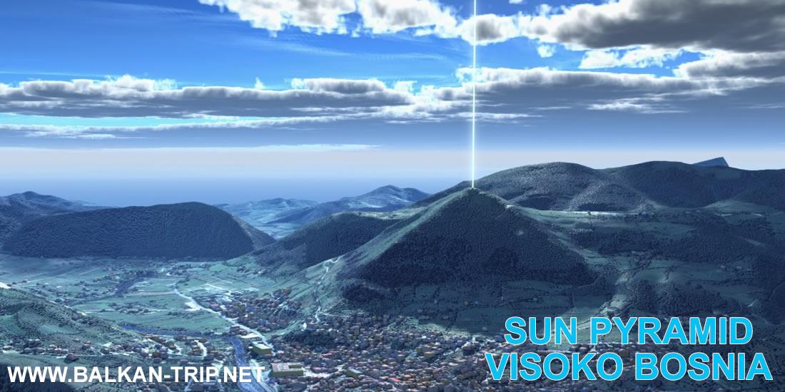 Découverte de la pyramide de Soleil en Bosnie et Hérzegovine