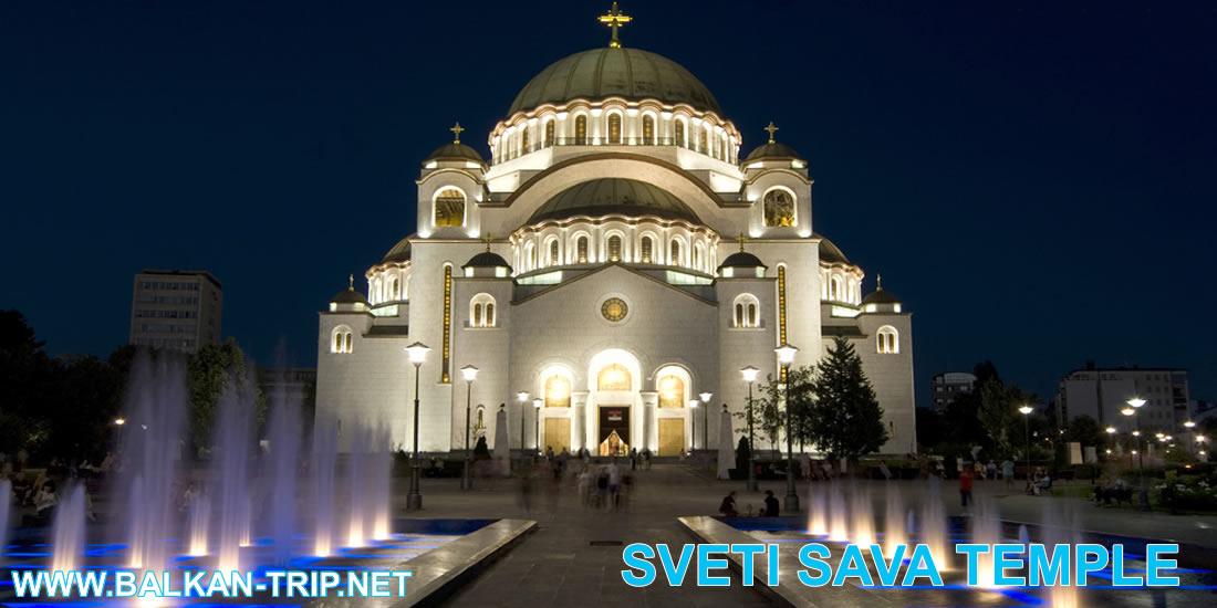 Temple Sveti Sava est le plus grand temple orthodoxe de l'Europe