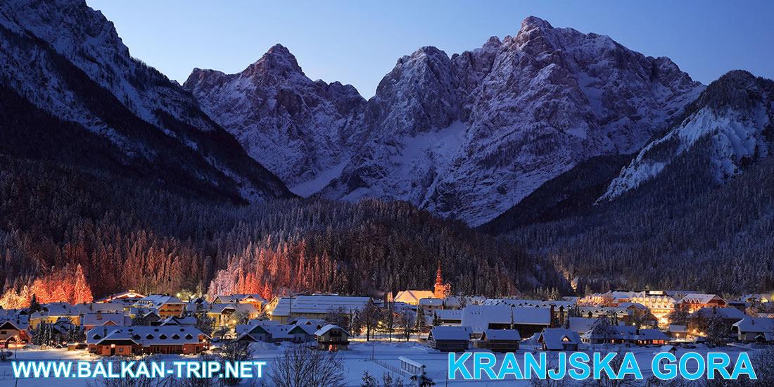 Les sports d'hiver à Kranjska Gora en Slovénie