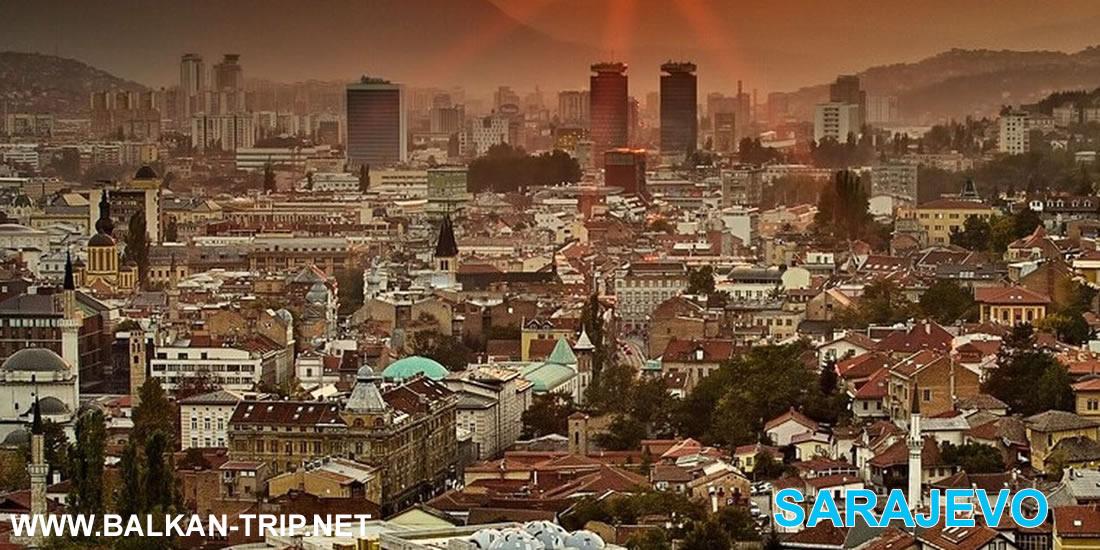 Découverte de Sarajevo - capitale bosniaque