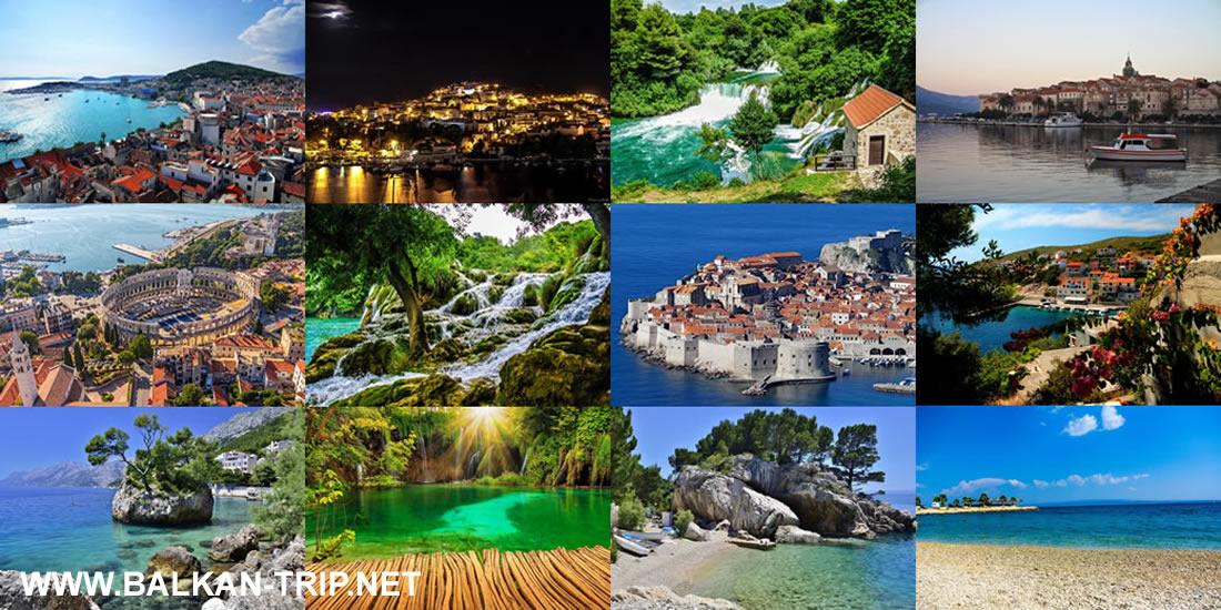 Vacances en Croatie - le pays aux milles destinations touristiques